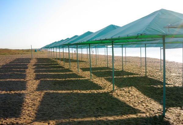 Пансионат Золотой берег,Пляж