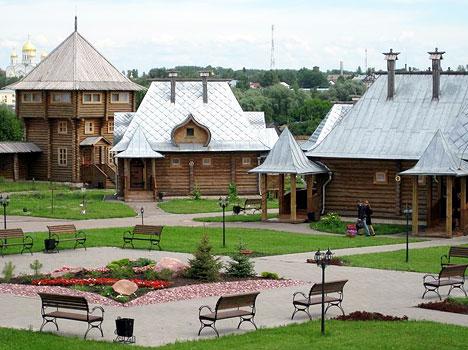 Гостиничный комплекс Дивеевская слобода,Внешний вид