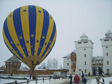 Гостиничный комплекс Дивеевская слобода,Полёты на воздушном шаре