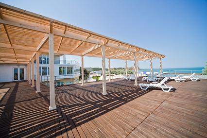 Туристско-оздоровительный комплекс Капля моря,Терраса