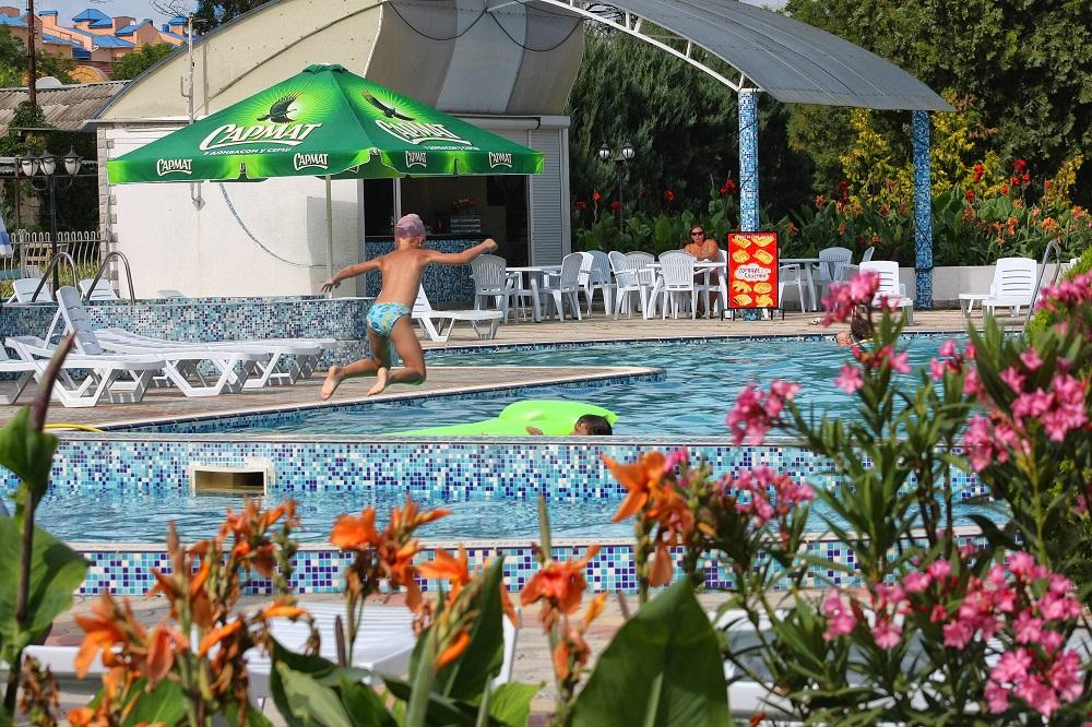 Туристско-оздоровительный комплекс Евпатория ТОК,Евпатория ТОК бассейн