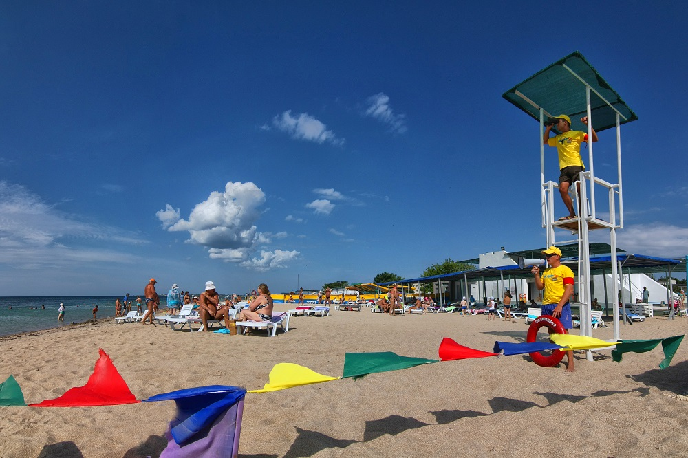 Евпатория ТОК пляж