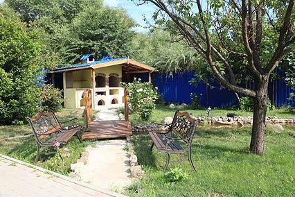 Гостевой дом Гостиный Домик,Территория