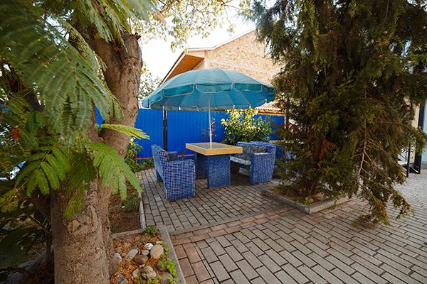 Летняя площадка кухни