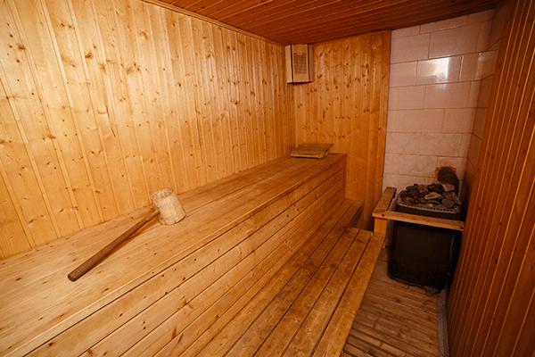 Парилка в финской сауне