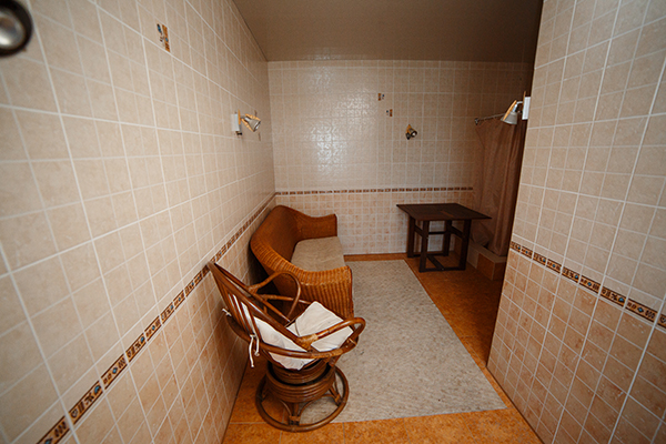 Комната отдыха в финской сауне