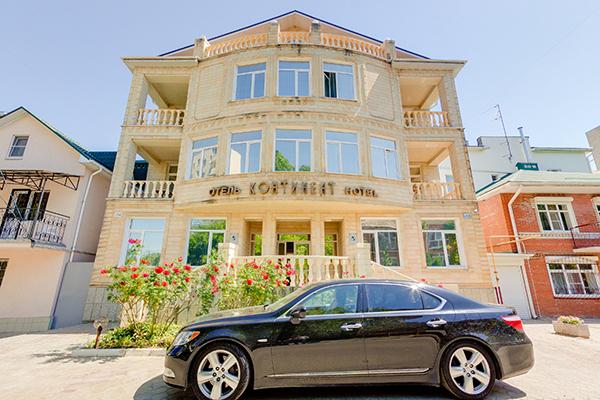 Отель Континент,Фасад