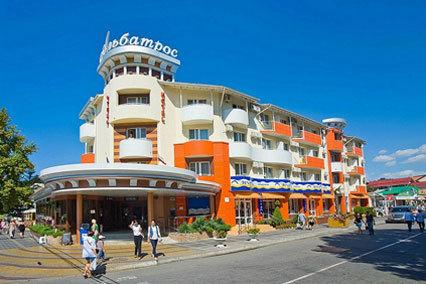 Гостиничный комплекс Альбатрос,Внешний вид