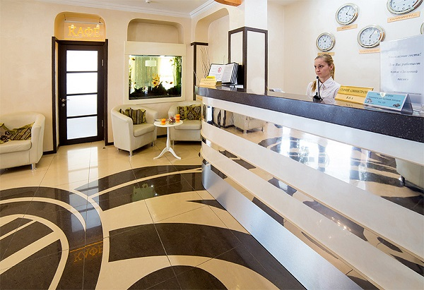 Гостиничный комплекс Альбатрос,Ресепшен