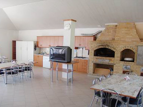 Гостиница Парус (Кабардинка),Кухня с мангалом
