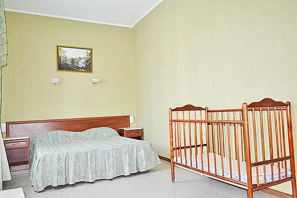 Отель Оливия,4-местный 2-комнатный