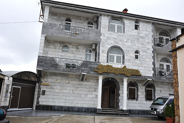 Отель У Бочарова ручья,вид отеля