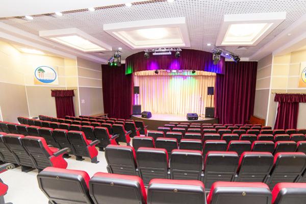 Санаторий Сосновый бор,Киноконцертный зал