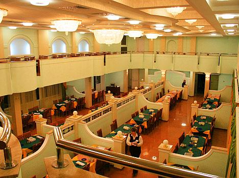 Санаторий Сосновый бор,Столовая