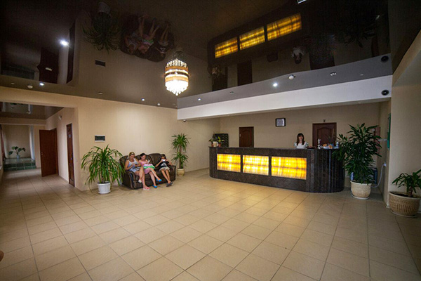 Парк-отель Лермонтовъ,Стойка регистрации