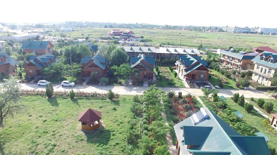 Пансионат Украина-1,Украина-1 территория коттеджей