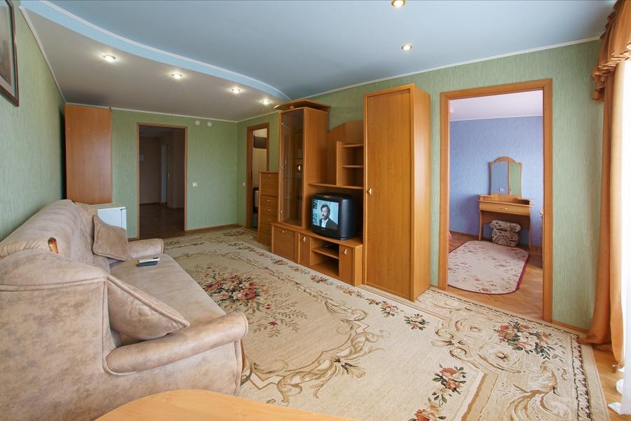 Люкс 2-местный 2 комнатный 6-этажный корпус
