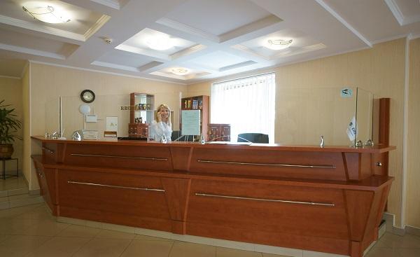 Гостиница Таврия,Ресепшн