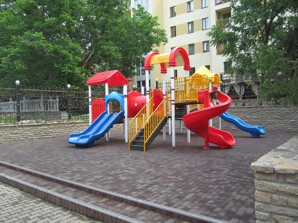 Санаторий Аврора ,Детская площадка