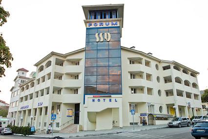 Отель Форум,Внешний вид