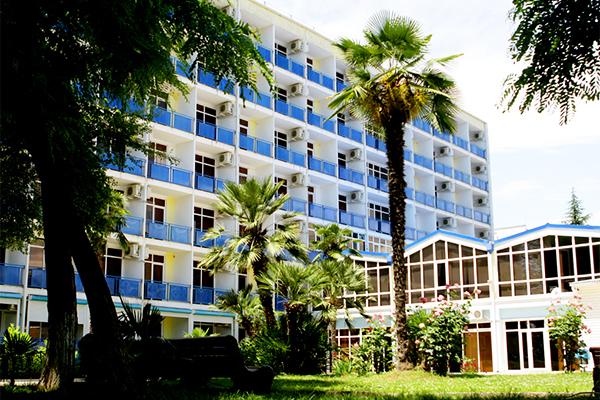 Гостиница Интер-Сухум,Общий вид