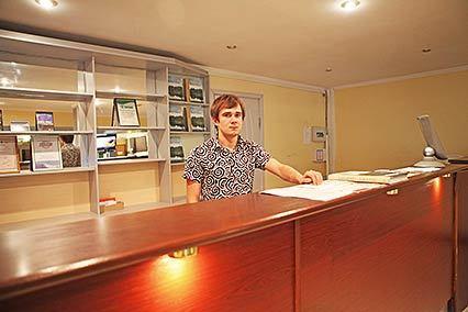 Гостиница Интер-Сухум,Ресепшн