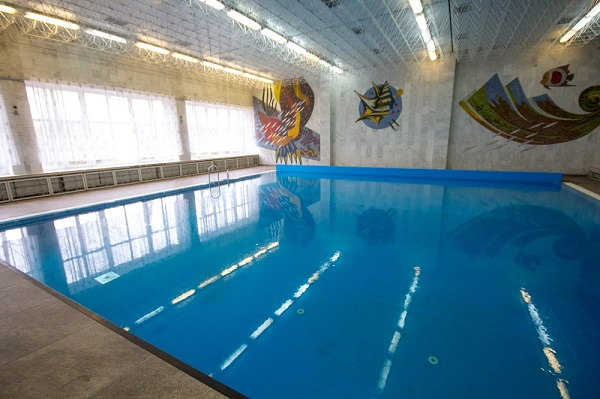 Санаторий Дружба ,Крытый бассейн