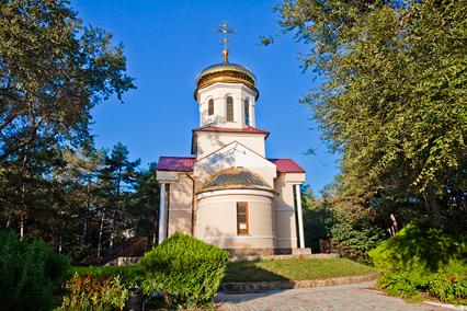 Санаторий Дружба ,Церковь Святого Луки на территории санатория