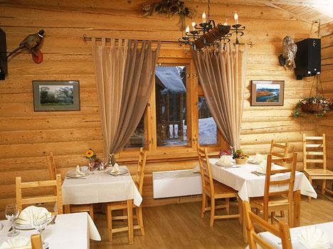 Отель Лада Holiday,Ресторан «Охотничий домик»