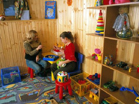 Отель Лада Holiday,Детская комната