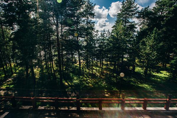 Гостиничный комплекс Калевала,Вид из номера