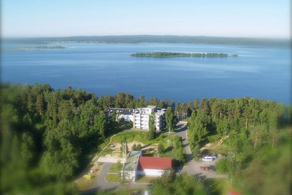 Вид отеля с высоты