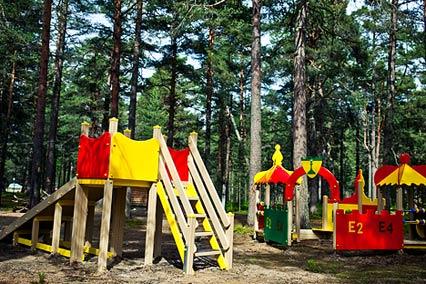 Загородный комплекс Большая Медведица,Детская площадка