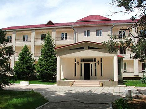 Отель Акун Иссык-Куль,Корпус отеля