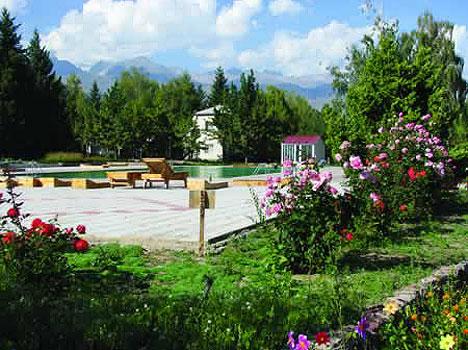 Отель Акун Иссык-Куль,Территория