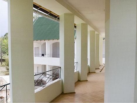 Отель Акун Иссык-Куль,На террасе