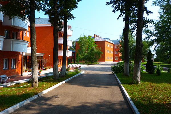 Санаторий Приока,Корпуса