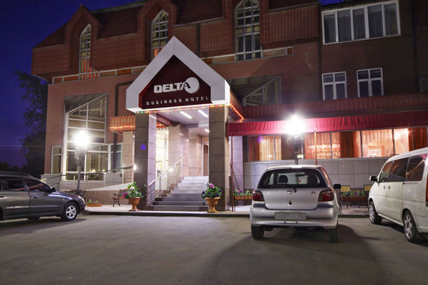 Гостиница Дельта,Внешний вид