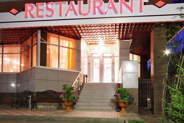Гостиница Дельта,Ресторан