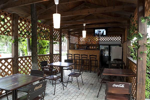 Пансионат Радуга,Кафе