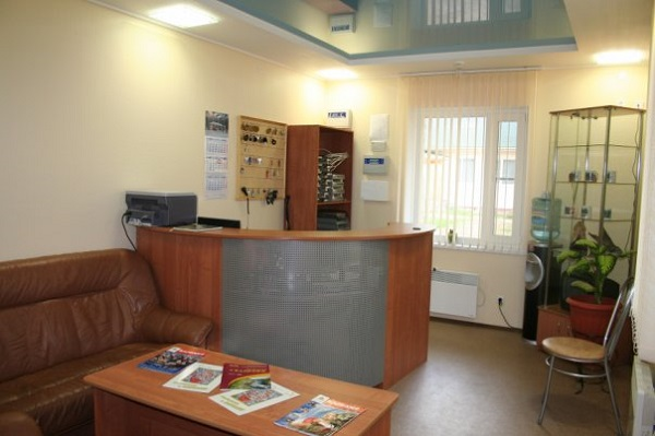 База отдыха Алекка,Стойка регистрации