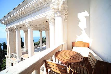 Балкон в ПК 2-местный Юг корпус 1
