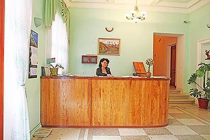 Пансионат Гагрипш,Ресепшн, корпус 1