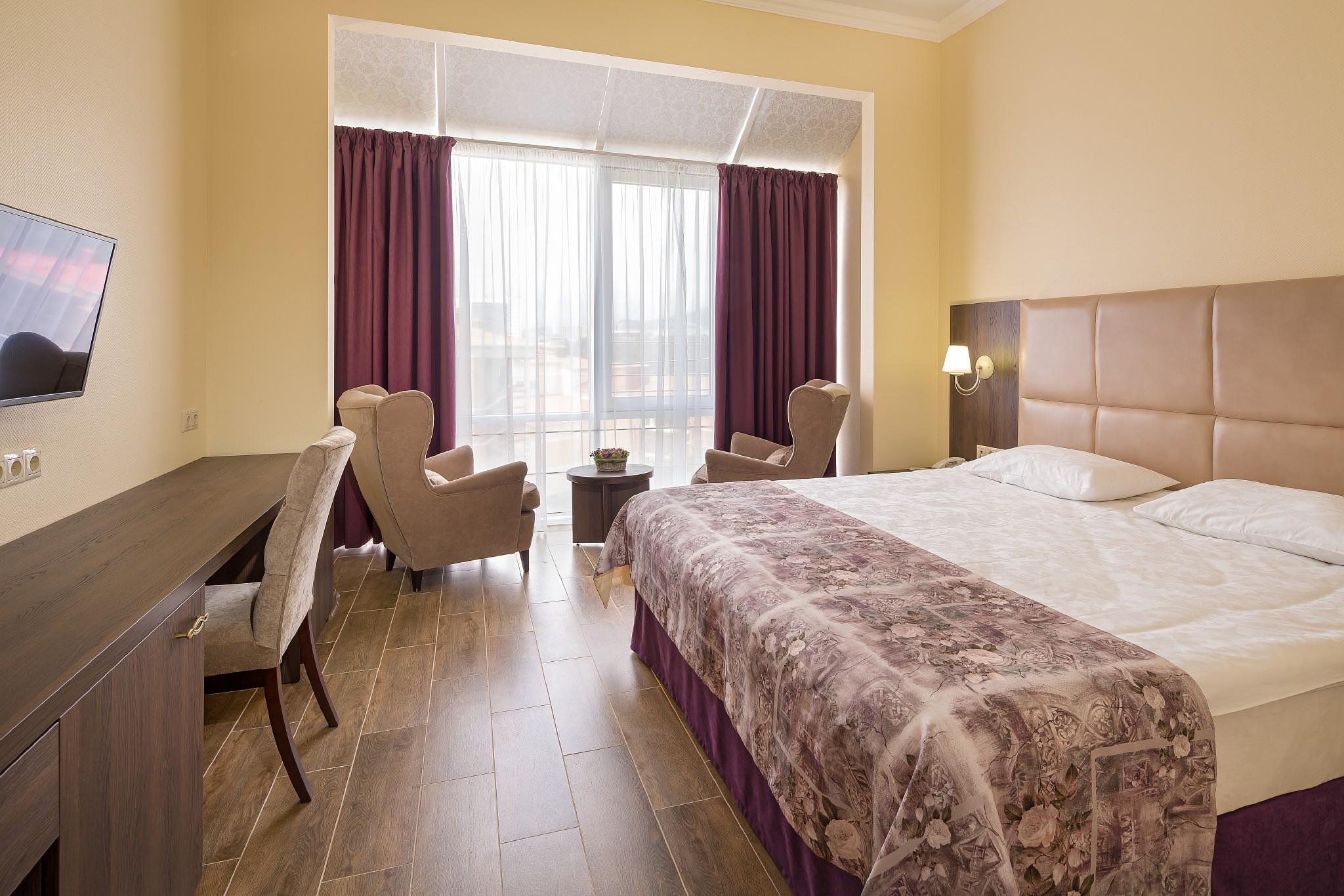 Отель Круиз Kompass Hotel,Стандартный 2-местный 1 категории вид на море и горы