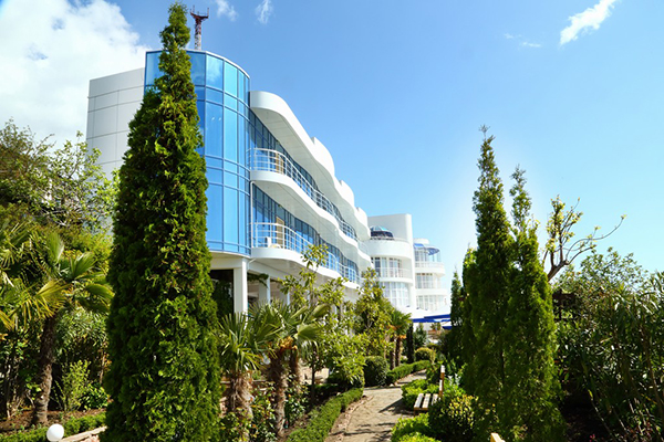 Гостиничный комплекс Маджестик,Внешний вид