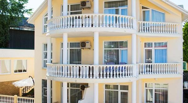 Гостиница Вилла Бавария,Внешний вид