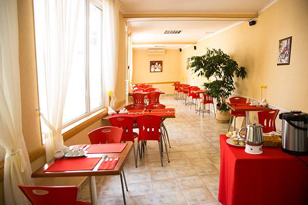 Гостиница Вилла Бавария,Кафе