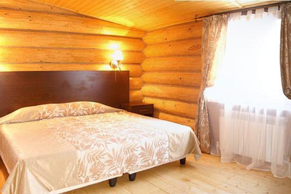 Спальня Скандинавского коттеджа