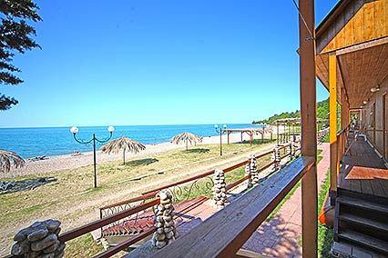 Гостиница Камарит,Пляж