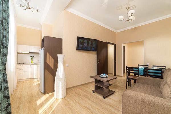 Гостиница Светлана,Апартаменты 2-местный 2-комнатный